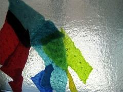 3- Détail verre fusionné